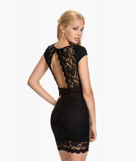 Bodycon-jurk Met V-hals